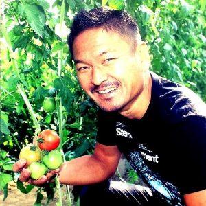 農園主の顔写真